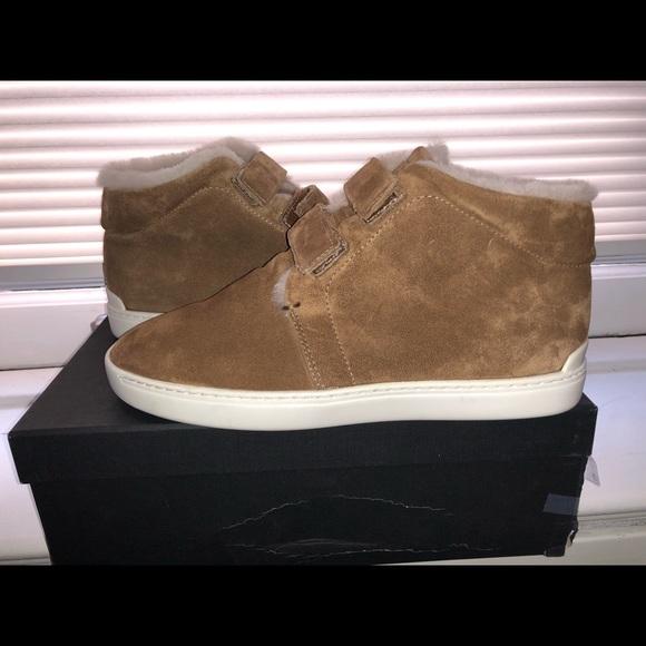 Rag Bone Kent Desert Shearling Sneakers